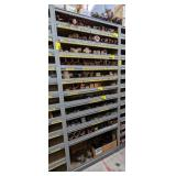 "Part Storage Rack,  37""x12""x84"". Contents not"