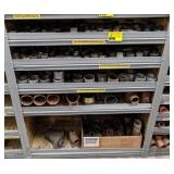 "Shelf Cont incl ½""-¾"", 1""-1¼"", 1½""-2"" Blk/Galv"