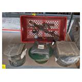 Shelf Cont incl Various Strainers & Mix Tubing w/