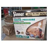 Simer Water Pressure Booster System & Supplies,