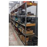 Metal Shelving w/ Pressed Shelf Boards,