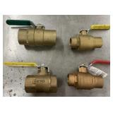 Lot of ball valves