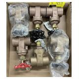 1 1/2 gate valves bidding on 1 x the quantity