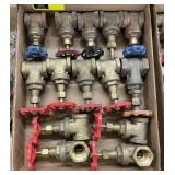 1. Inch gate valves bidding on 1 x the quantity