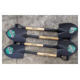 Truper Utility Shovel, Carbon Steel Blade.