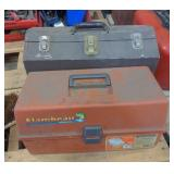 Lot w/ Two Tackle Boxes and Various Fishing