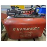 Vtg Evinrude Gas Can