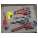 "Flat of Heavy Duty Wrenches 8"" by Rigid, Fuller,"
