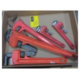 Flat of Heavy Duty Wrenches, various sizes