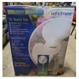 "Windmere 16"" 3-Speed Stand Fan"