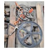 Lot of Measuring Wheel Devices