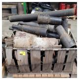 Pallet of Large Pipe Pieces