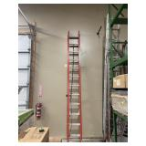 24 foot  orange extension ladder