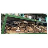 Lot of various sized pieces of wood