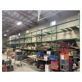 10 Pallet racks 9 feet by 18 feet tall , a