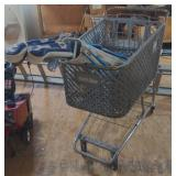 Jewel-Osco Plastic Shopping Cart w/ Right Handed