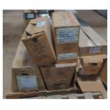 Pallet of Various Gerber Toilet Tanks and Parts