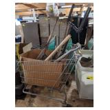 Shopping Cart w/ Contents of Tools/Parts.