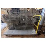"Platform Cart/Truck, 60""x30"" surface space. Metal"
