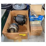 Lot w/ Small Motors, Solenoids, Time Switch &