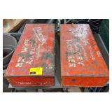 "Milwaukee Metal Toolbox, 24½""x12""x6"". Bidding"