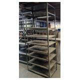Metal Shelving. 36x24x98