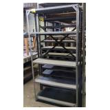 Metal Shelving. 36x12x72
