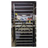 Metal Shelving. 36x12x96