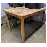 Wood Table. 47x32x29