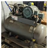 Air Compressor w/ Leeson 2hp Motor