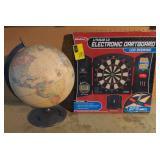 Vtg Globe + Halex Electronic Dart Board