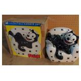 Felix the Cat Cookie Jar w/Box