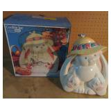 Easter Bunny Peter Cottontail Cookie Jar by