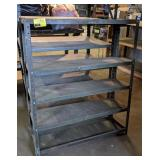 Metal Shelving. 36x12x43