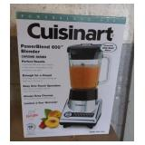 Cuisinart PowerBlend 600 Blender in Box.