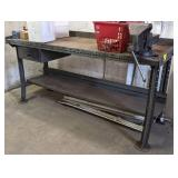Metal Shop Bench. 29x34x60