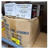 Lot of Basket Sink Strainers