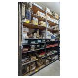Metal Shelving w/ Press Board Shelves. 100x
