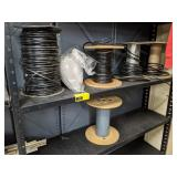 Partial Spools of Wire