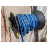 Air Hose Reel. Removal Required