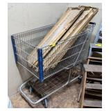 Shopping Carts w/ Shelving