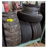 Lot of Various Tires