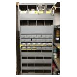 Storage Shelf w/ Bins and Fitting Drawers,