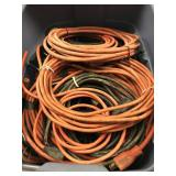 Tote of 14 Gauge Extension Cord Wire