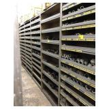 Shelf w/ Large Black Iron Fittings, measures