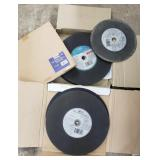 "NIB- Big lot of  14"" cut-off wheels for metal"