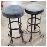 "Bar stools , mid centeryish. Appox 28"" h"