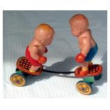 Celluloid / Tin Boxer Toy