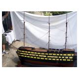 6 ft model sailing Ship