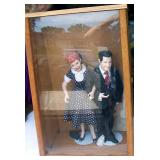 Lucy and Desi Dolls in Case